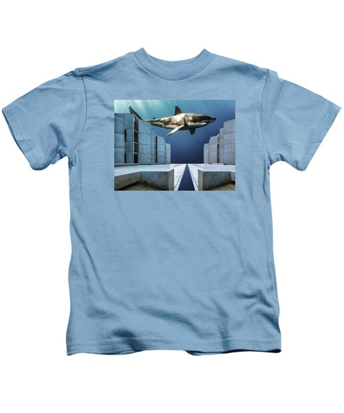 e3e725c834 Megalodon Kids T-Shirts | Fine Art America