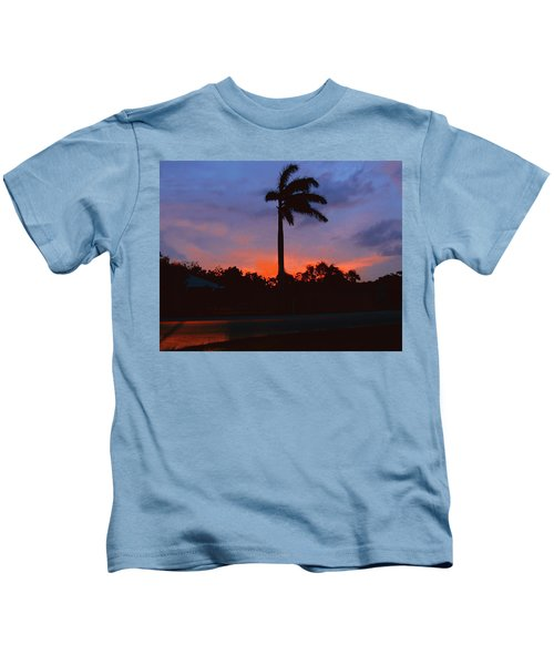 Miami Sunset Kids T-Shirt