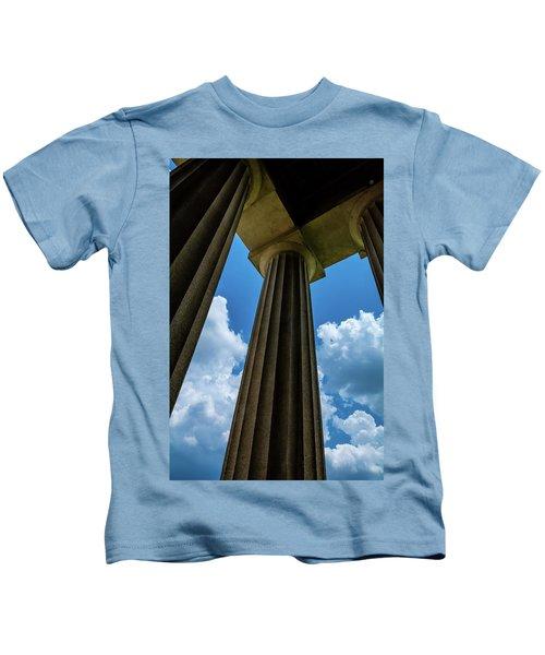 Mighty Columns  Kids T-Shirt