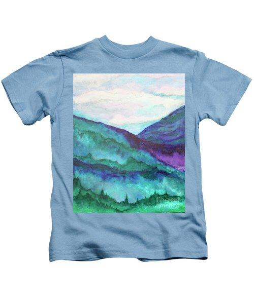 Mini Mountains Majesty Kids T-Shirt