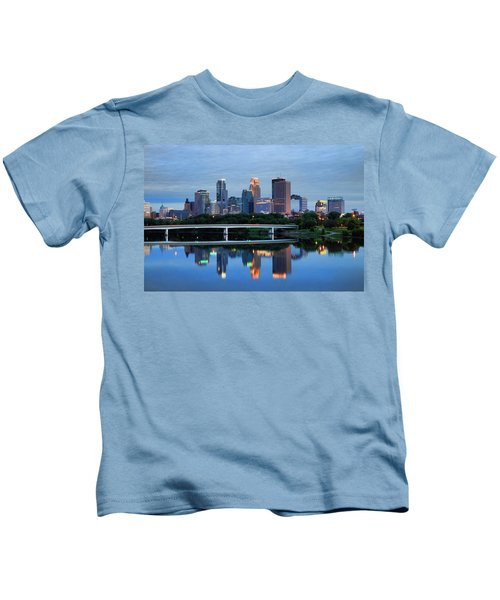 Minneapolis Reflections Kids T-Shirt