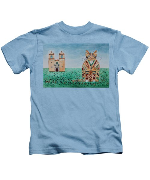 Mission Concepcion Cat Kids T-Shirt