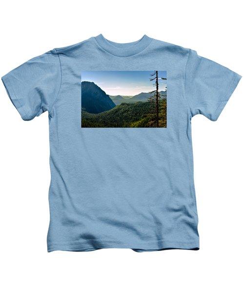 Misty Mountains Kids T-Shirt