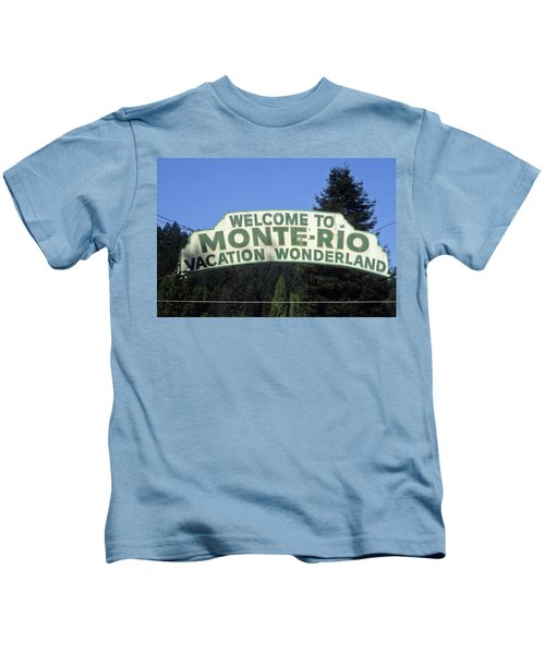Monte Rio Sign Kids T-Shirt