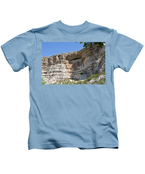Montezuma Castle National Monument Arizona Kids T-Shirt