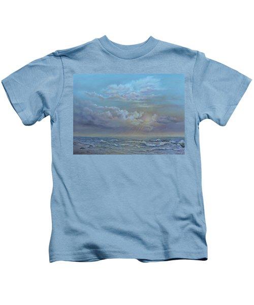 Morning At The Ocean Kids T-Shirt