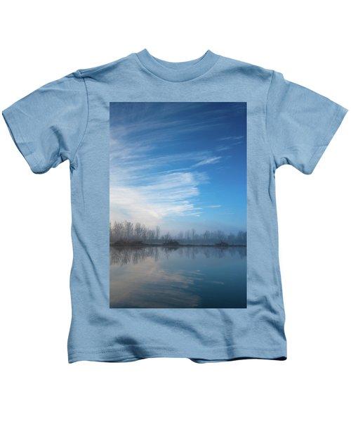 Mottled Sky Kids T-Shirt