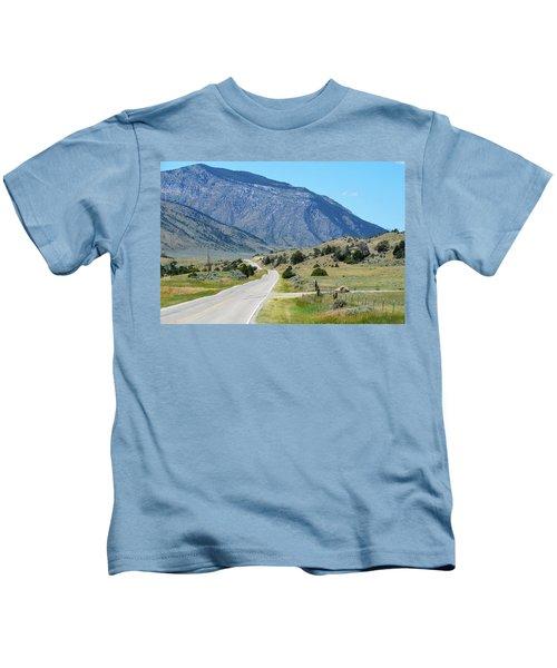 Mountain  Kids T-Shirt