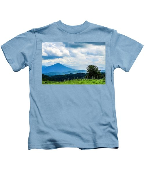 Mountain Rain Kids T-Shirt