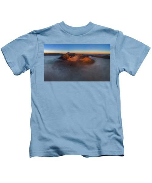 Mt Bromo Sunrise Kids T-Shirt