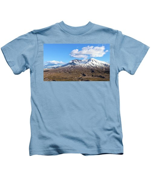 Mt Saint Helens Kids T-Shirt
