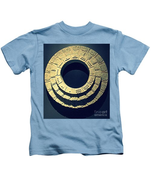 National Museum Of The American Indian 10 Kids T-Shirt by Randall Weidner