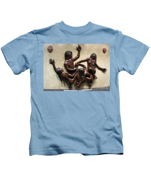 National Museum Of The American Indian 6 Kids T-Shirt by Randall Weidner