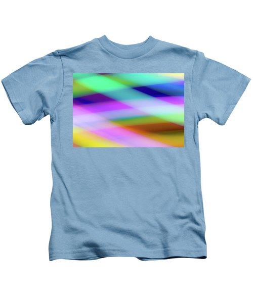 Neon Crossing Kids T-Shirt