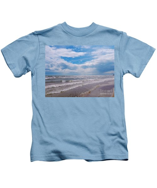 Neshotah Beach Kids T-Shirt