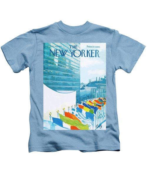 New Yorker November 14th, 1964 Kids T-Shirt