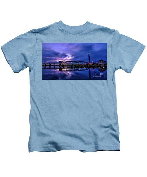 Night Swing Bridge Kids T-Shirt