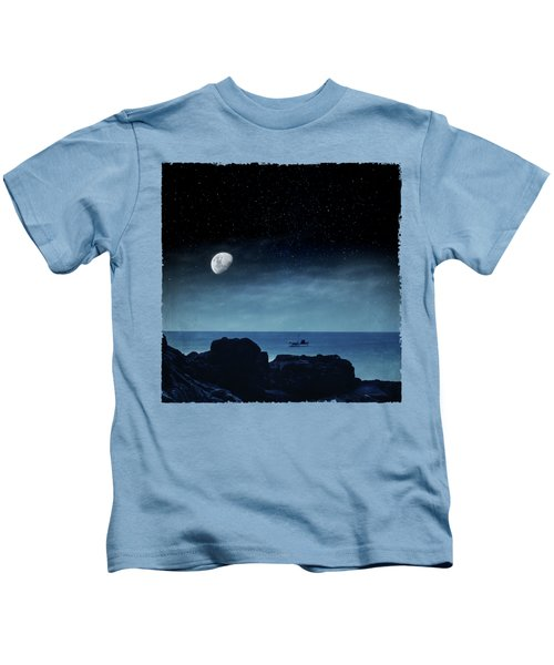 Nocturnal Sea Kids T-Shirt