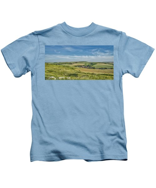 North French Scenery Kids T-Shirt