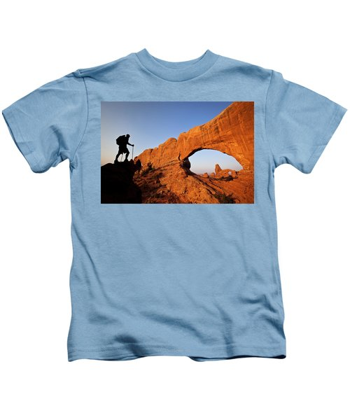 North Window Arch Kids T-Shirt