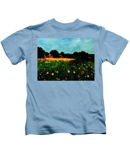 Not Another Bluebonnet Painting Kids T-Shirt