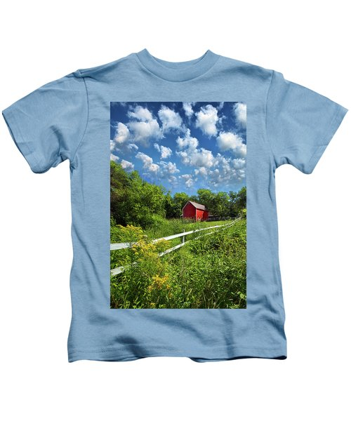 Noticing The Days Hurrying By Kids T-Shirt