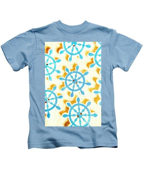 Ocean Circles Kids T-Shirt