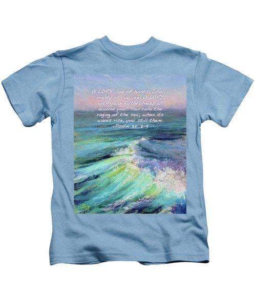 Ocean Symphony With Bible Verse Kids T-Shirt