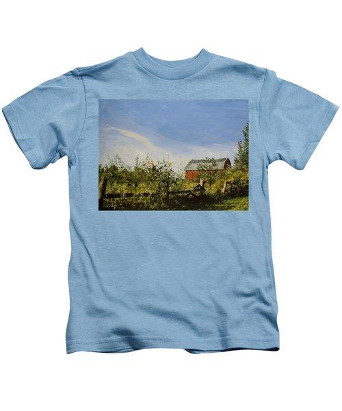October Fence Kids T-Shirt