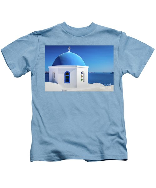 Oia Chapel Kids T-Shirt