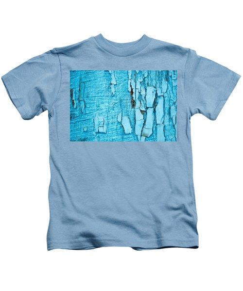 Old Blue Wood Kids T-Shirt