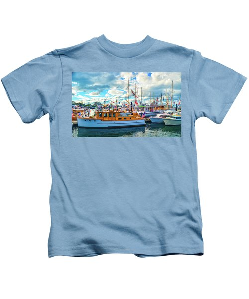 Old Boats Kids T-Shirt