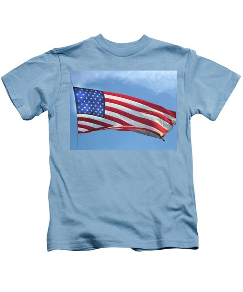 Old Glory Never Fades Kids T-Shirt