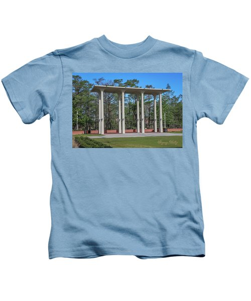 Old Student Union Arches Kids T-Shirt