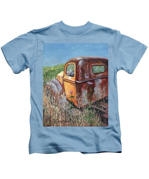Old Yellow Kids T-Shirt