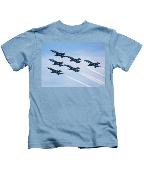 On Wings Like Eagles Kids T-Shirt