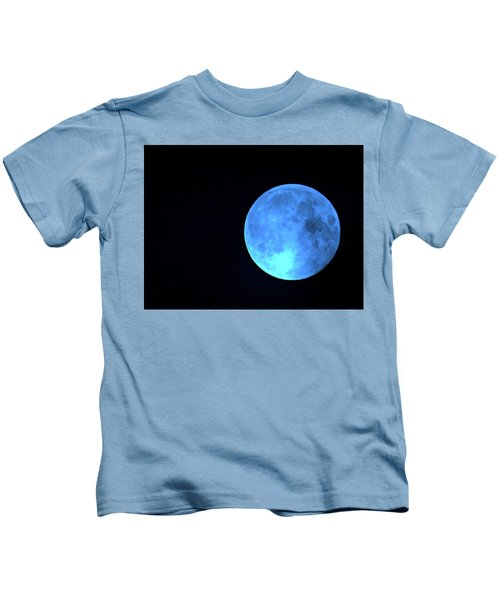 Once In A Blue Moon Kids T-Shirt