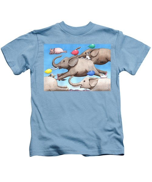 Only Way To Fly Kids T-Shirt
