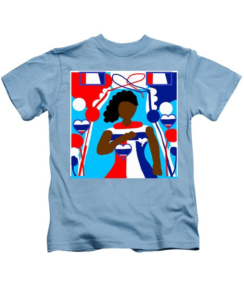 Our Flag Of Freedom 3 Kids T-Shirt