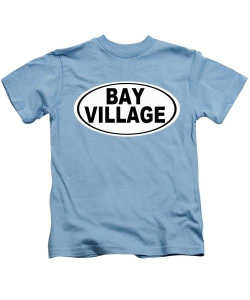 Oval Bay Village Ohio Home Pride Kids T-Shirt