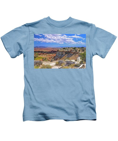 Painted Desert Of Utah Kids T-Shirt