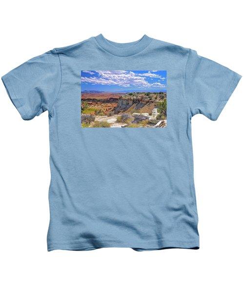 Painted Desert Of Utah Kids T-Shirt