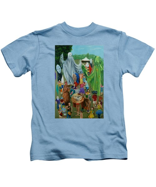 Paperhand Puppet Parade Kids T-Shirt