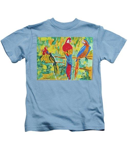 Parrots Kids T-Shirt