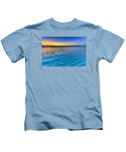 Pastel Ocean Kids T-Shirt