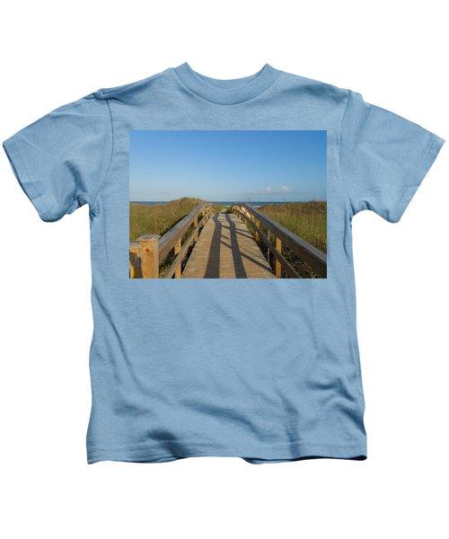 Path To Happiness Kids T-Shirt