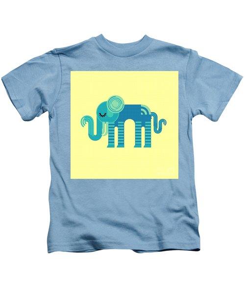 Pattern Elephant Kids T-Shirt