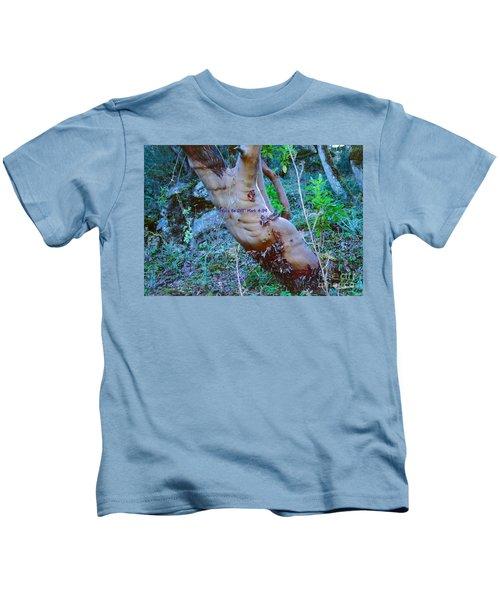 Peace Be Still Kids T-Shirt