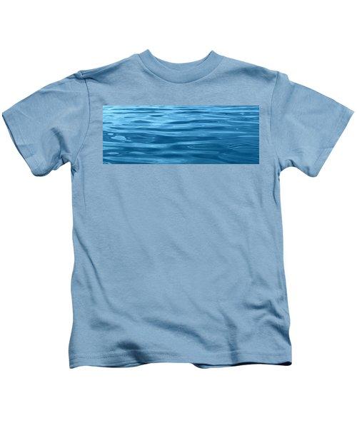 Peaceful Blue Kids T-Shirt