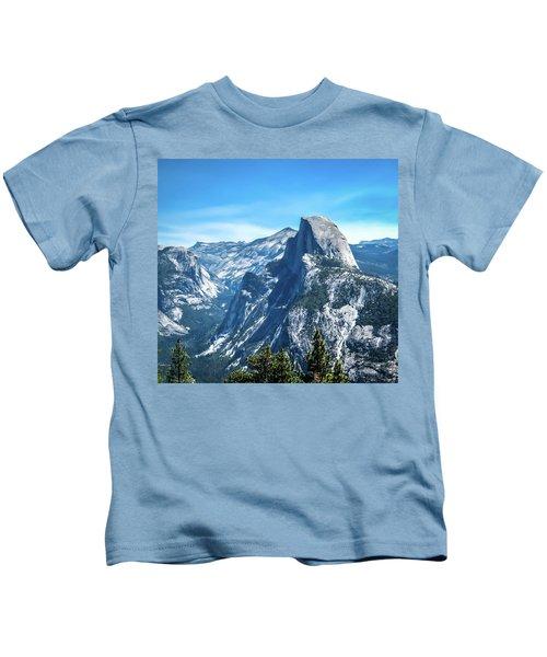 Peak Of Half Dome- Kids T-Shirt